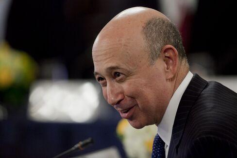 Goldman Sachs Group Inc. CEO Blankfein