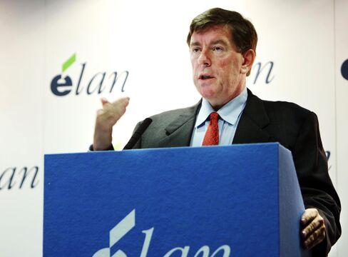 Elan Corp. Chief Executive Officer Kelly Martin