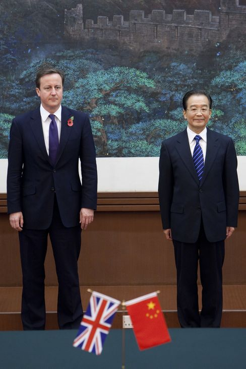 Cameron Risks Spat With Chinese Wearing Poppy During Visit