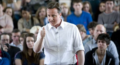 David Cameron, leader of the U.K. Conservative Party