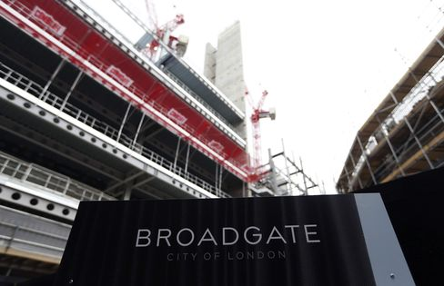 Blackstone Said to Sell Broadgate Complex Stake for $2.7 Billion
