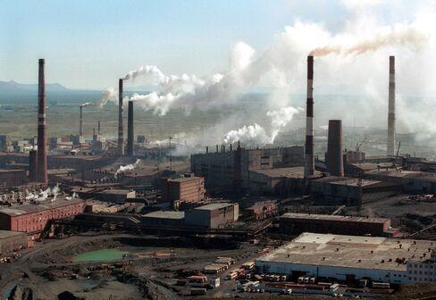 RTS Futures Rise as Norilsk Gains on Stimulus