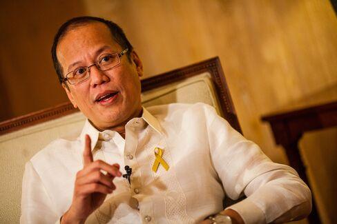 Philippines President Benigno Aquino