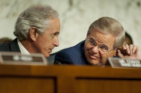 Republican Bob Corker & Democrat Robert Menendez