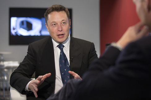 Co-founder of Tesla Motors Inc. Elon Musk