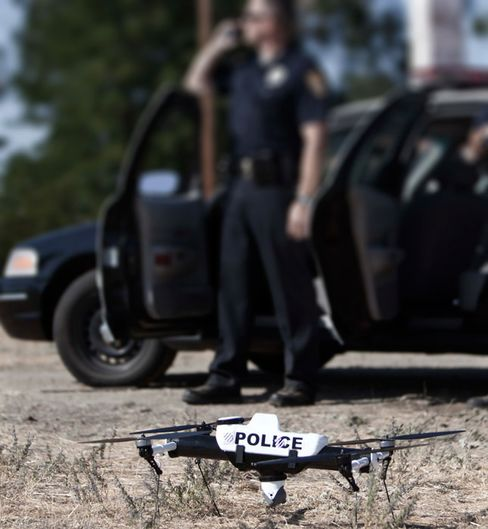Drones Take to U.S. Skies In Police, Other Government Roles