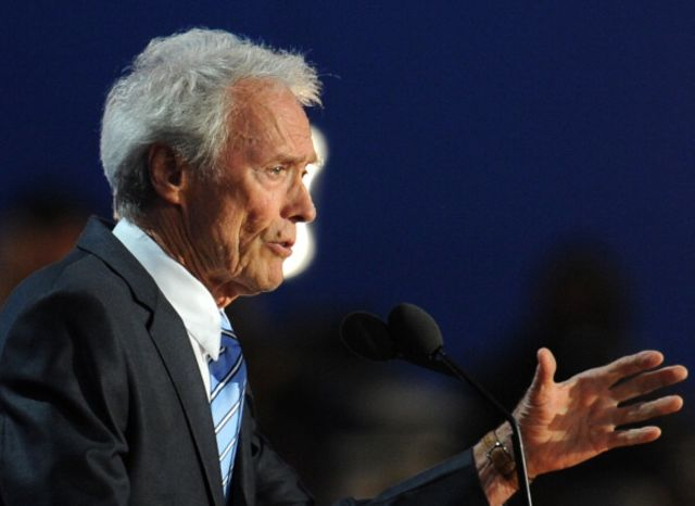 Clint Eastwood has been in some pretty good movies. Photographer: Robyn Beck AFP/Getty Images