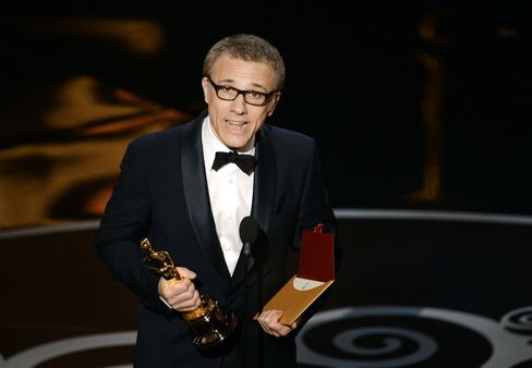 Christoph Waltz Wins Supporting Oscar Award for Role in 'Django'