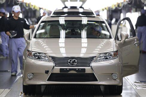 Honda Leads U.S. Auto Sales Gains as Toyota Rebound Continues