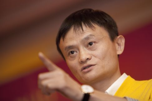 Jack Ma, chairman of Alibaba Group Holding Ltd., said the company had to restructure its Alipay unit to get a needed permit and Chinese regulators would not accept forei
