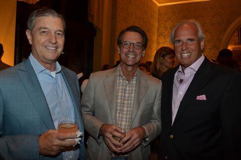 Clay Rohrbach, Dennis Glass and Peter Kiernan