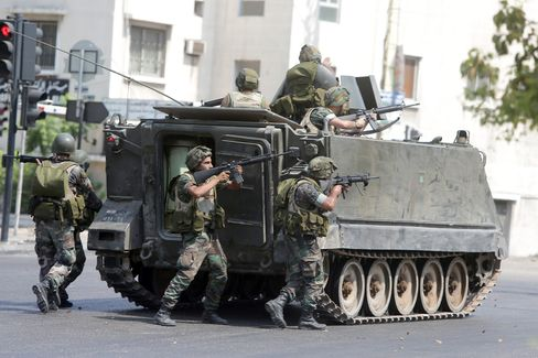Lebanon Troops Killed in Clash With Anti-Hezbollah Sunnis
