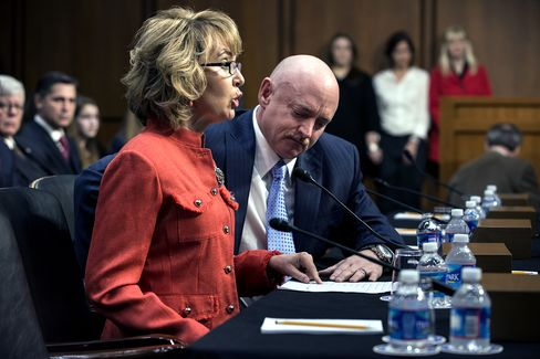 Giffords Says Too Many Children Dying, Urges Action on Guns