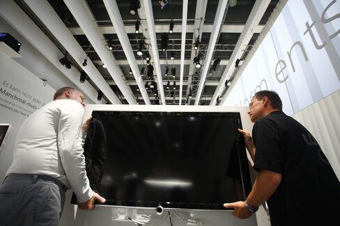 Loewe 'Made in Germany' Flops as TV Maker Seeks Debt Protection