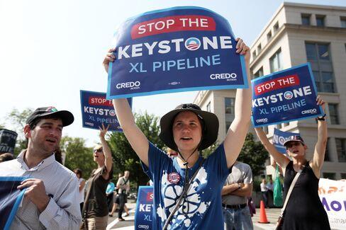Keystone Foes Pledge Sit-Ins If Pipeline's U.S. Permit Advances
