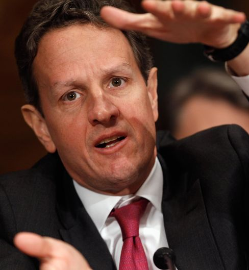 Geithner Urges Restructuring of Corporate Taxes