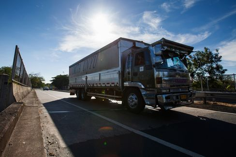 Trucks Oust Buffalo as Aquino's $6.5 Billion Adds Roads