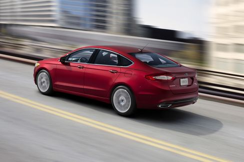 2013 Ford Fusion with EcoBoost