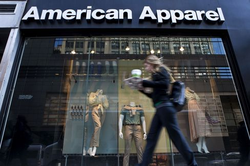 American Apparel Said to Be in Talks to Raise $160 Million