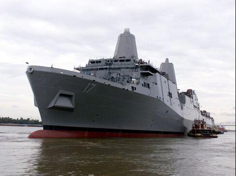 Northrop Navy Ships 'Not Survivable' in Combat