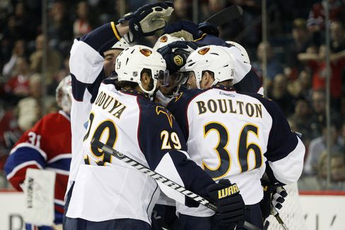 NHL's Thrashers Moving to Winnipeg After Sale