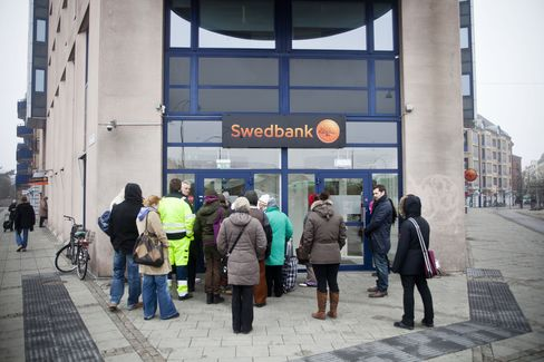 Swedbank Rises to Europe's Top Two as CEO Revives Swedish Lender