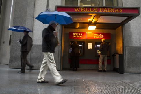 Wells Fargo & Co. Headquarters Stand in San Francisco