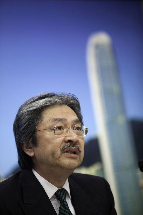 John Tsang, Hong Kong's financial secretary