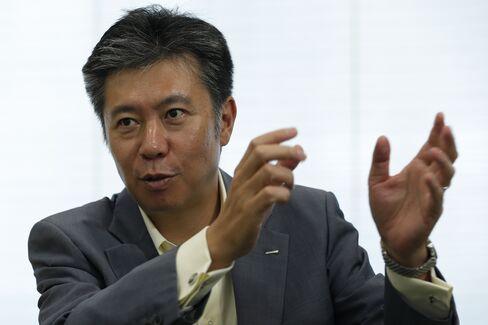 Suntory Beverage President Nobuhiro Torii