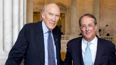 Alan Simpson and Erskine Bowles
