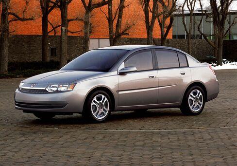 A 2003 Saturn ION Automobile