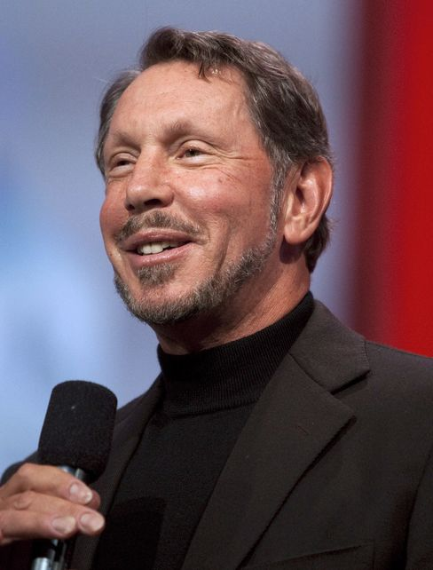 Larry Ellison, CEO of Oracle Corp