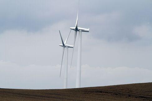 Wind Turbines near Rostock