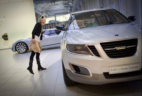 Saab Auto Seeks Protection From Creditors