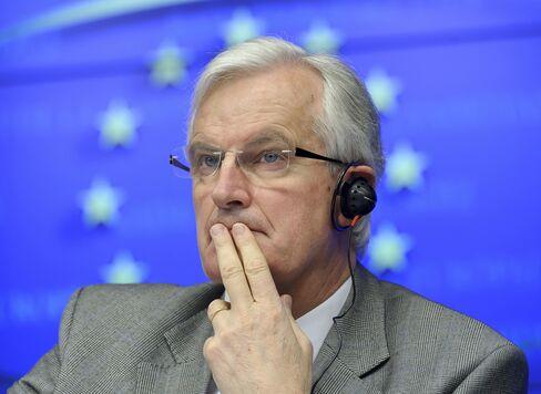EU Financial Services Commissioner Michel Barnier