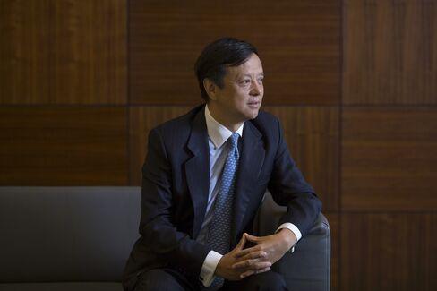 HKEx CEO Charles Li