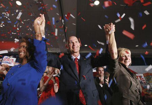 Republican Rick Scott