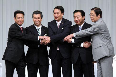 Candidates Differ on Japan Rebuilding
