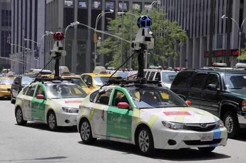 Google StreetMaps Cars