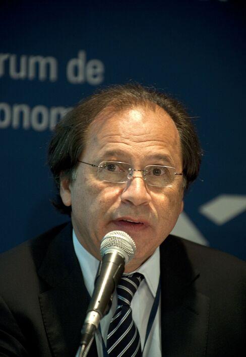 Benjamin Steinbruch, CEO of Cia. Siderurgica Nacional SA
