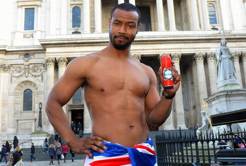 Actor Isaiah Mustafa for Old Spice