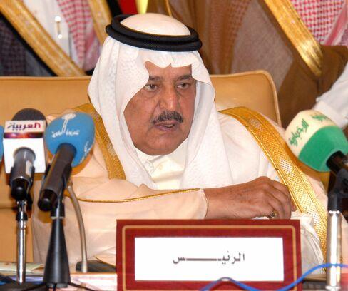 Crown Prince of Saudi Arabia Nayef bin Abdulaziz al-Saud