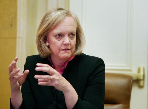 Hewlett-Packard Co. CEO Meg Whitman