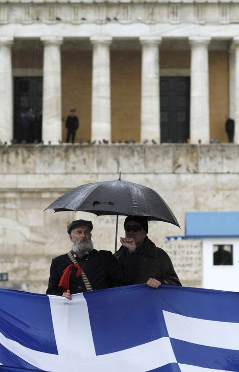 Greek Bailout Talks Stalled as Venizelos Heads to Brussels