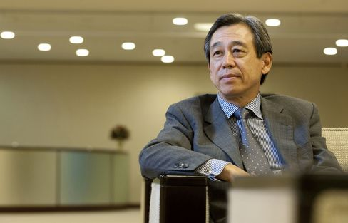 Olympus Corp. Chairman Yasuyuki Kimoto