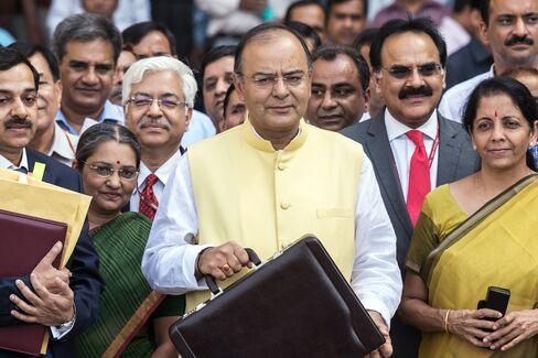 India's Finance Minister Arun Jaitley