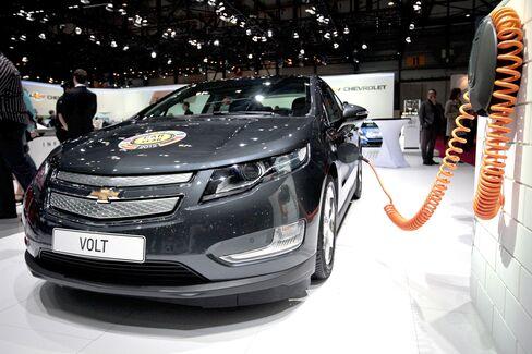 GM Says Volt Production Will Halt March 19, Resume April 23