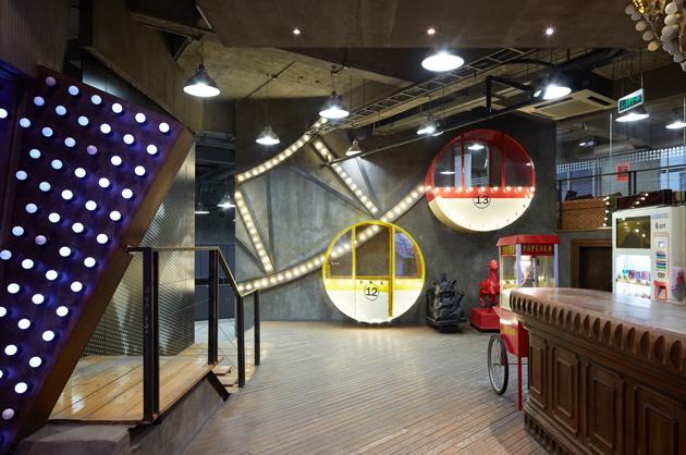Ferris Wheel Meeting Space
