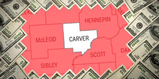 Most property tax paid in Minnesota: Carver County
