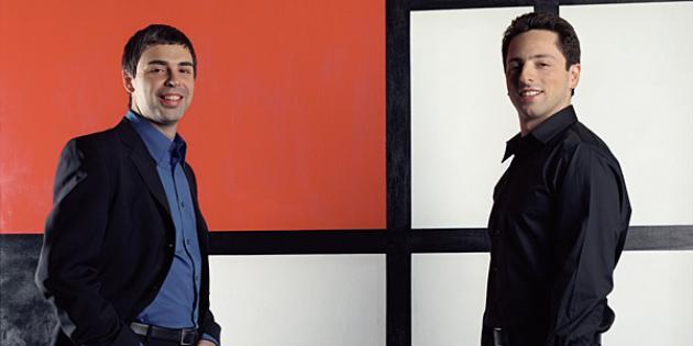 Larry Page, Meet Sergey Brin